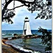 Vanas Lighthouse, Lake Vattern, Sweden by annemary