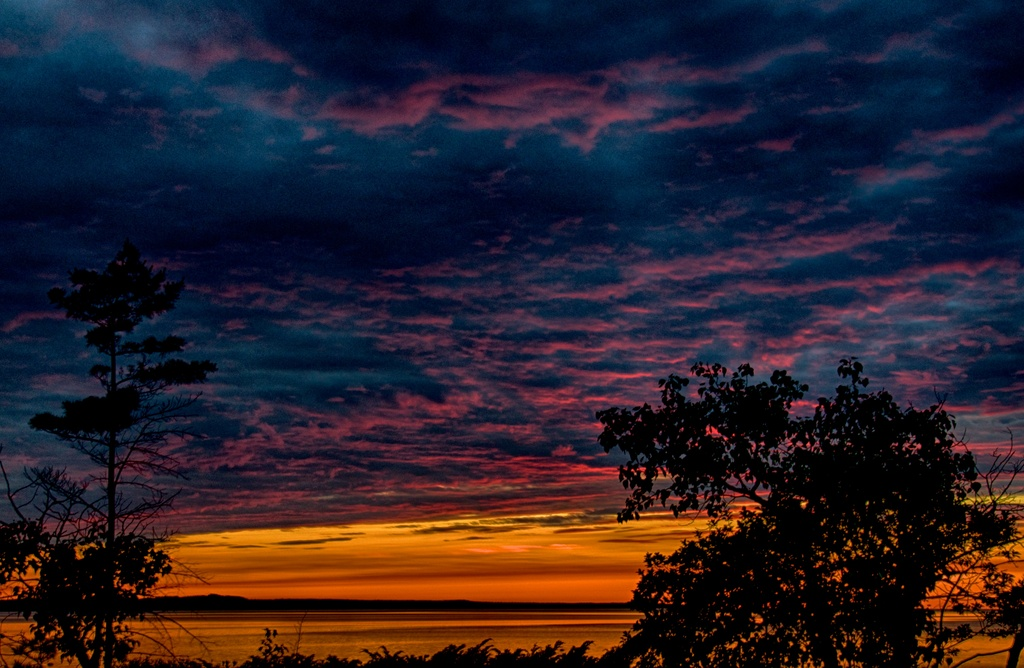 Glorious Beaver Island Sunset by taffy