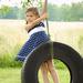 Old School Tire Swing Summer by alophoto