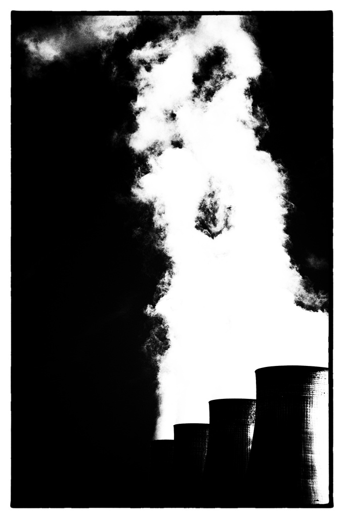 Ratcliffe Power Station Film Noir by seanoneill