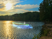 4th Jul 2013 - Boating in the light - Get pushed challenge