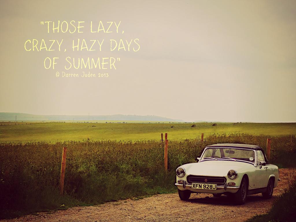 Summertime Sights / Day 8: Vintage Summer. by darrenboyj