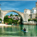 The Bridge at Mostar by ivan