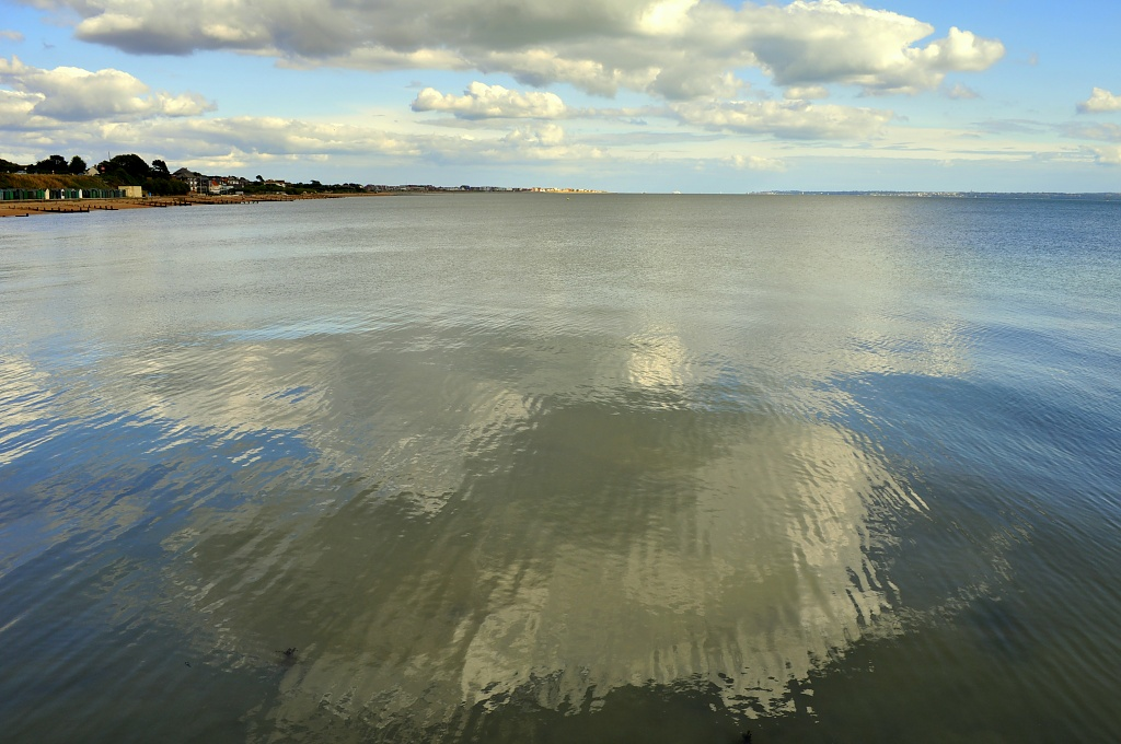 Reflections at Sea by andycoleborn