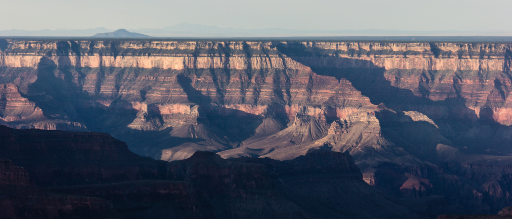the Grand Canyon in early morning light... by northy