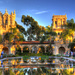 Sunset at Balboa Park by joysfocus
