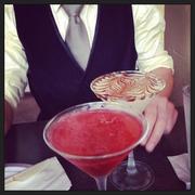 Fancy Drinks, with a fancy man  on 365 Project