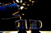 19th Jul 2013 - golden hour coffee