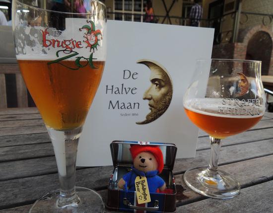 Paddington visits Brugge by bizziebeeme