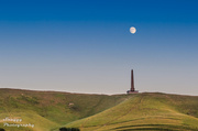 20th Jul 2013 - Day 201 - Moon above Lansdowne Monument