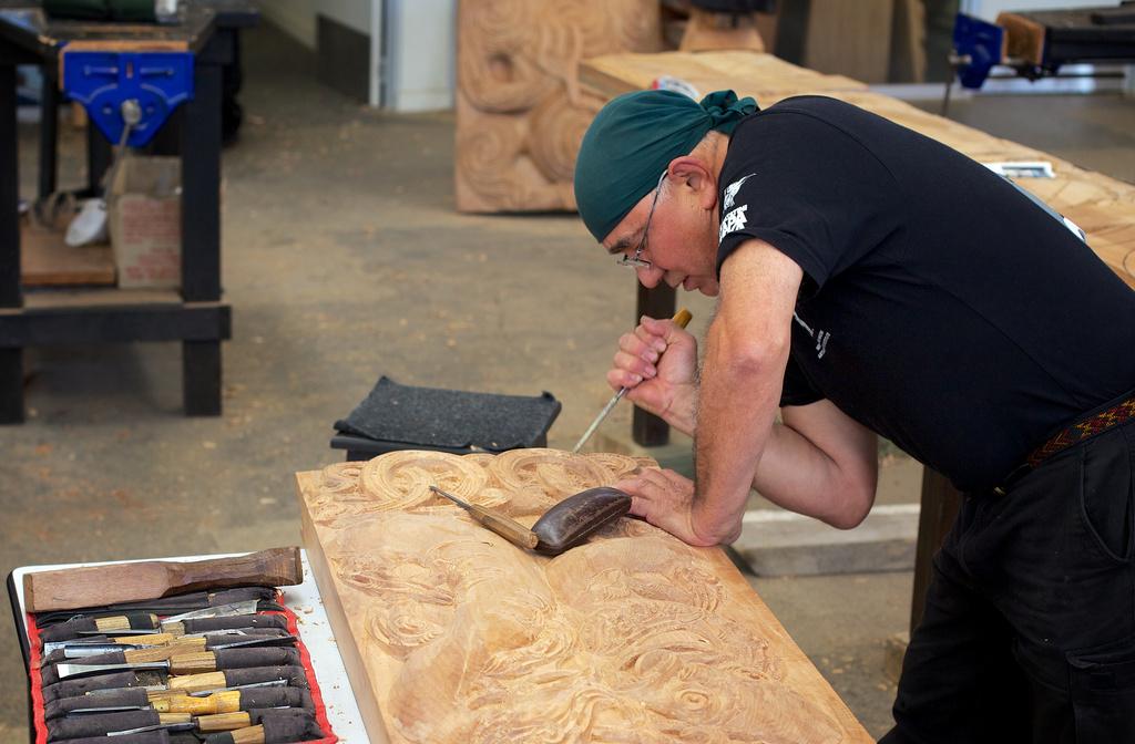 Maori Carving by jyokota