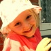 My shy little great-niece by bruni