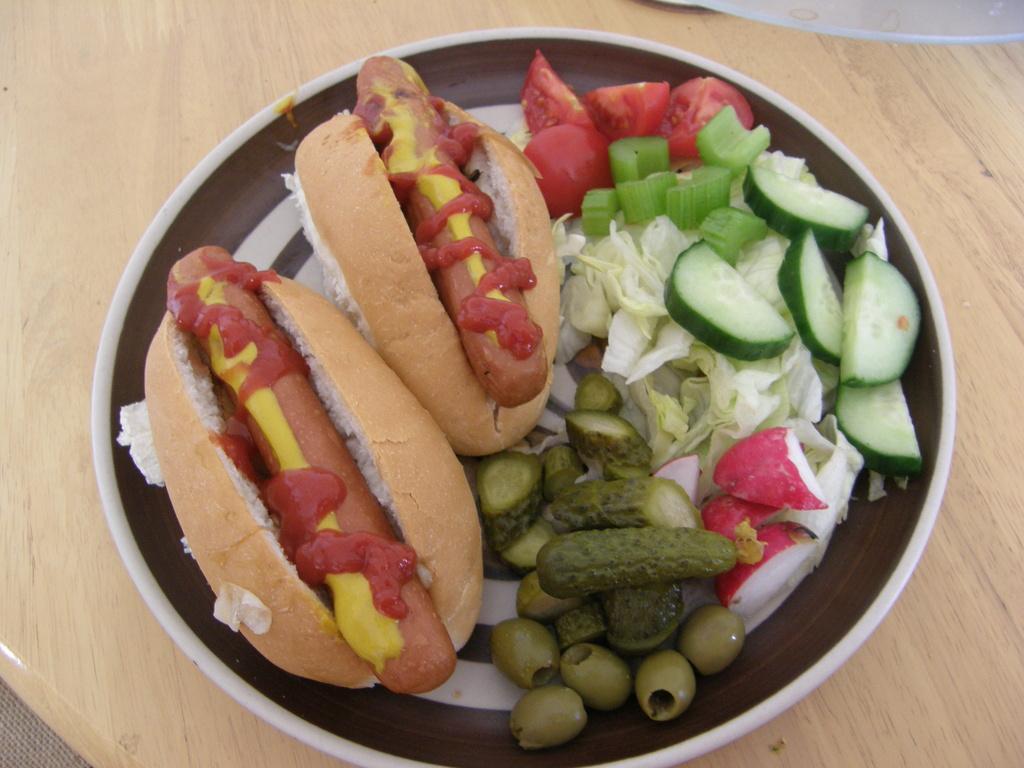 Hotdogs --  jul13words by beryl