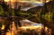25th Jul 2013 - Sunset Along the River