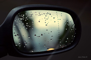 5th Aug 2013 - Raindrops and Wing Mirrors