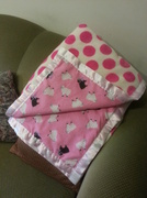 5th Aug 2013 - (I Made ) Cot Blanket for a New Baby
