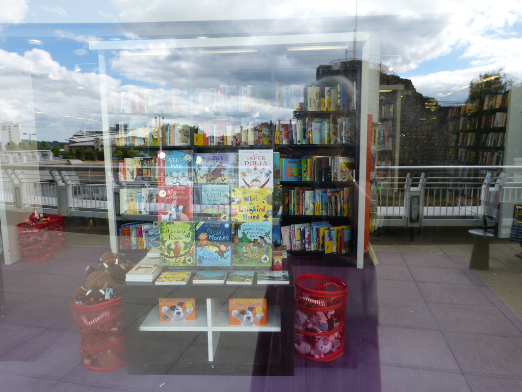 for today's word:  'book'shop window... by quietpurplehaze