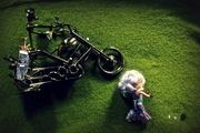 13th Aug 2013 - Mr Man, the caddy