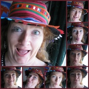 14th Aug 2013 - My New Hat!