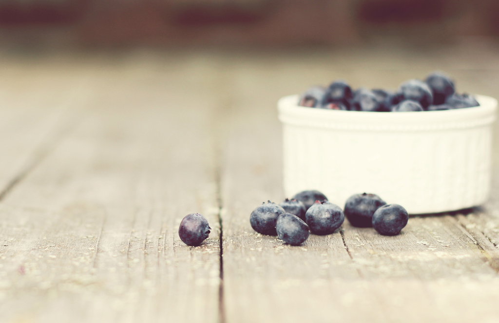 Blueberries by Allison