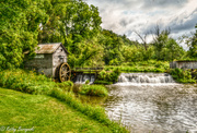 23rd Aug 2013 - Watermill located in Wisconsin (please view large against the black)