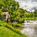 Watermill located in Wisconsin (please view large against the black) by myhrhelper