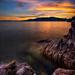 Sunset over Bowen Island by abirkill