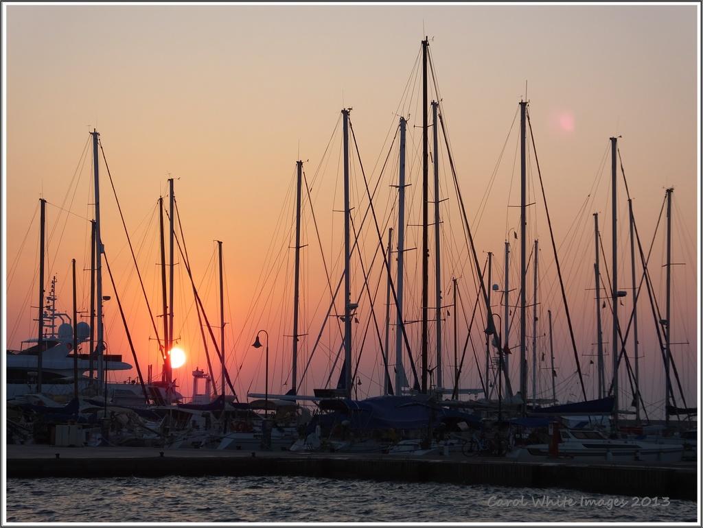 Sunrise At Kos Marina by carolmw