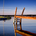 Reflections of a PIer, Version 2 by taffy