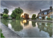 1st Sep 2013 - Canal Reflections At Sunset