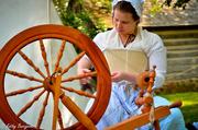 31st Aug 2013 - Woman spindling (Good Ol Days??)