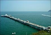 4th Sep 2013 - So Blue  !!----The sea and Llandudno Pier