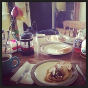 vegan french toast brunch  on 365 Project