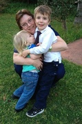 4th Sep 2013 - Me and my grandsons