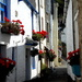 One of the alleyways by the harbour at Polperro . by snowy