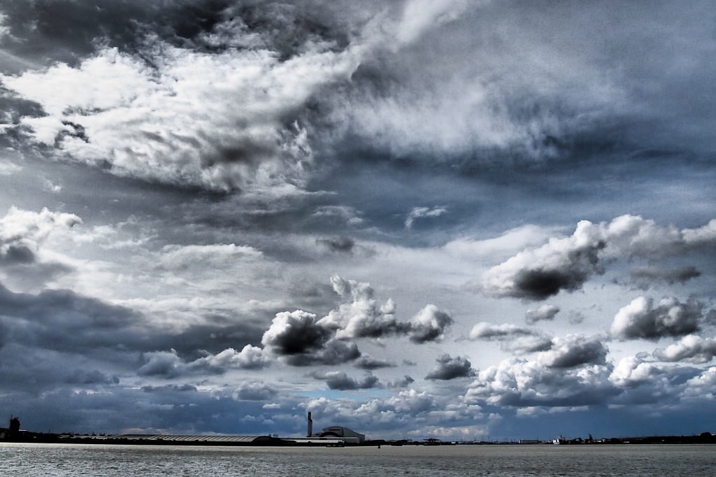 Dramatic Clouds by andycoleborn