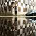 Chequered puddle by boxplayer