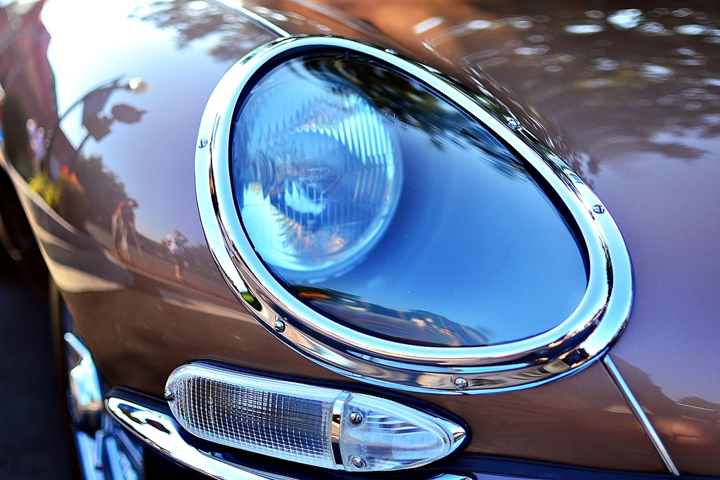 Jaguar E type series 1 covered headlamp by soboy5