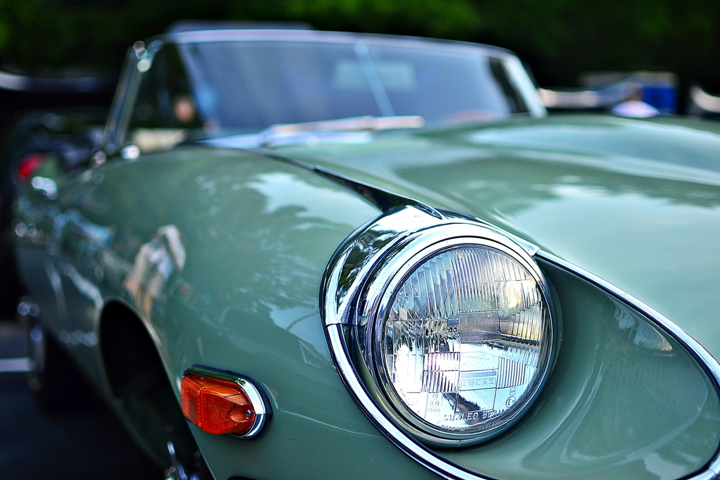 Jaguar E Type 4.2  by soboy5