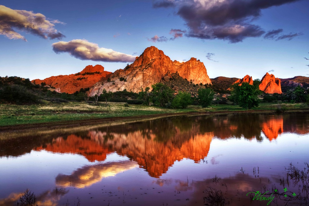 Sunrise at the Pond by exposure4u