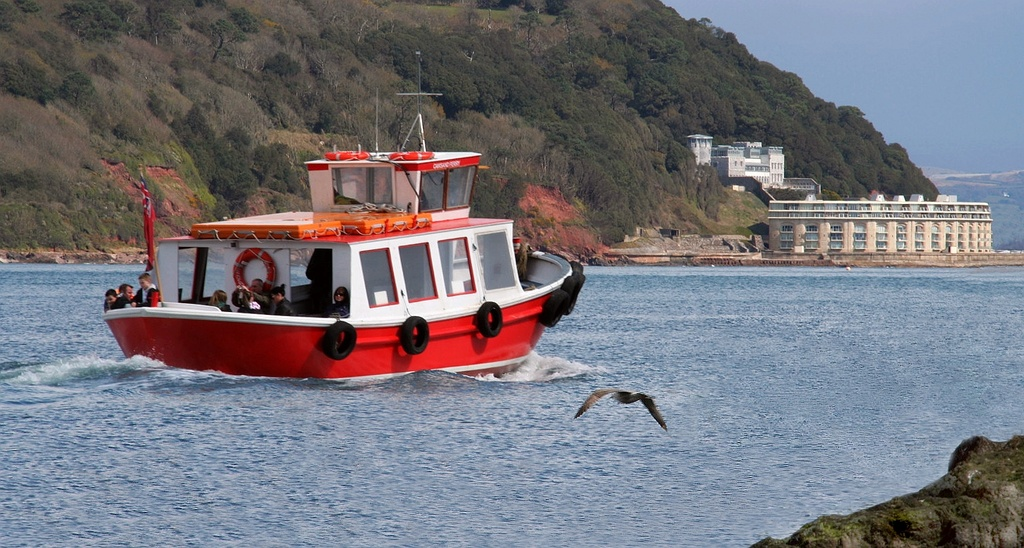 Cawsand Ferry by netkonnexion