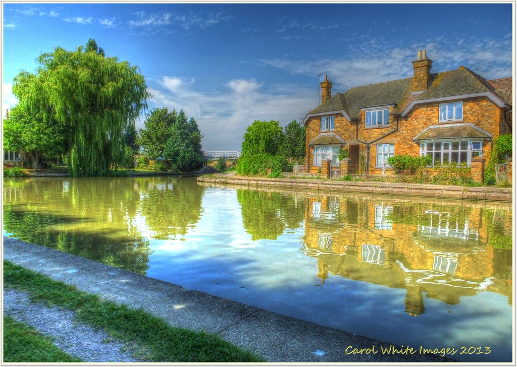 A Home By The Canal by carolmw