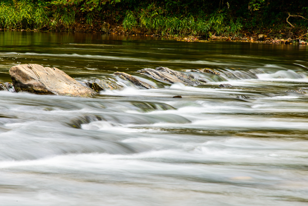 North Fork of the Holston River by kathyladley
