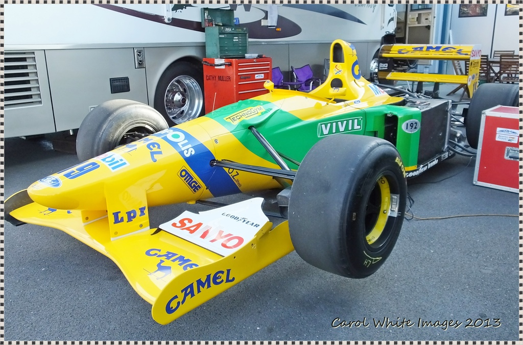 Benetton F1 Racing Car by carolmw