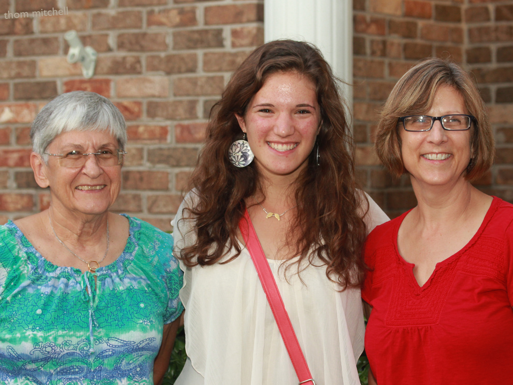 Three generations … but probably not what you think by rhoing