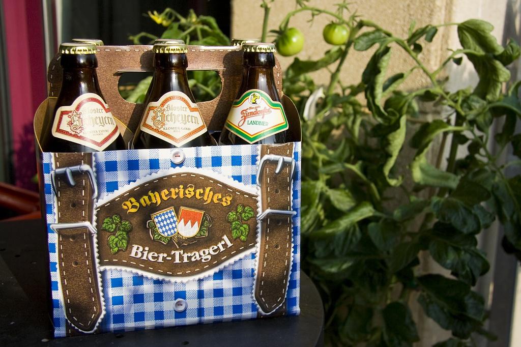Not Lederhosen, but Leder-Beer-Holder by harvey
