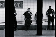 4th Oct 2013 - Subway cops,  Brooklyn, NY