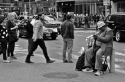 9th Oct 2013 - Trumpet player on 14th Street