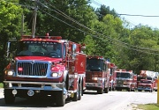 6th Sep 2010 - Fire Truck Parade!