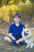 7th Oct 2013 - Boy and Dog
